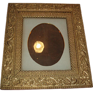 Fine Ornate Antique Gesso Gilded Wood Frame