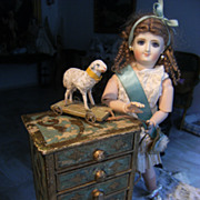 A beautiful dresser for your Fashion doll, or other little French Doll.