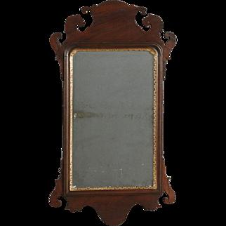 Chippendale Mahogany Mirror, New England, c. 1790