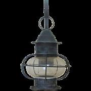 Cape Cod Onion Lantern Wall Lamp Sconce