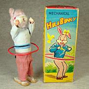 Alps Hula Bunny Wind-up Toy - MIB - 1060's