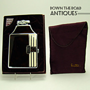 Ronson Master-Case Enameled Cigarette Holder and Lighter  Combination