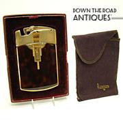 Ronson Tuxedo Dureum Cigarette Holder and Lighter Combination -  Near Mint
