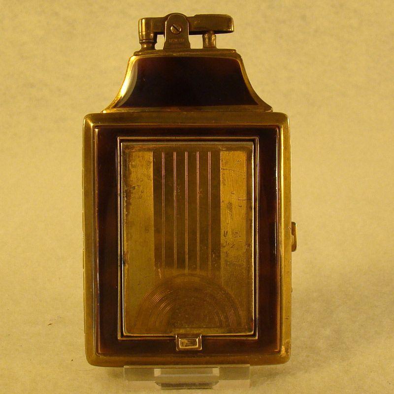 Ronson Dureum Cigarette Lighter Compact Combination