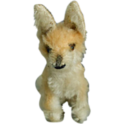 Steiff Mohair Fox (50's - 60's) w/Steiff button!