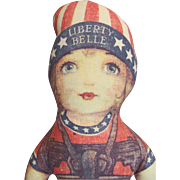 """15"""" 'Liberty Belle' cloth Bicentennial_Hard to find Doll_"""