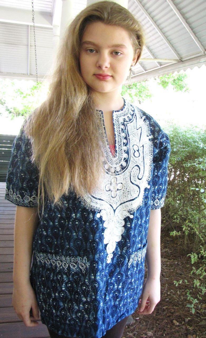 Coolest Batik Hippy Boho Vintage Indian Embroidered Tunic
