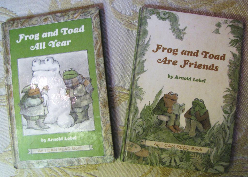 Frog & Toad are Friends 1970, Frog & Toad All Year 1976, Arnold Lobel
