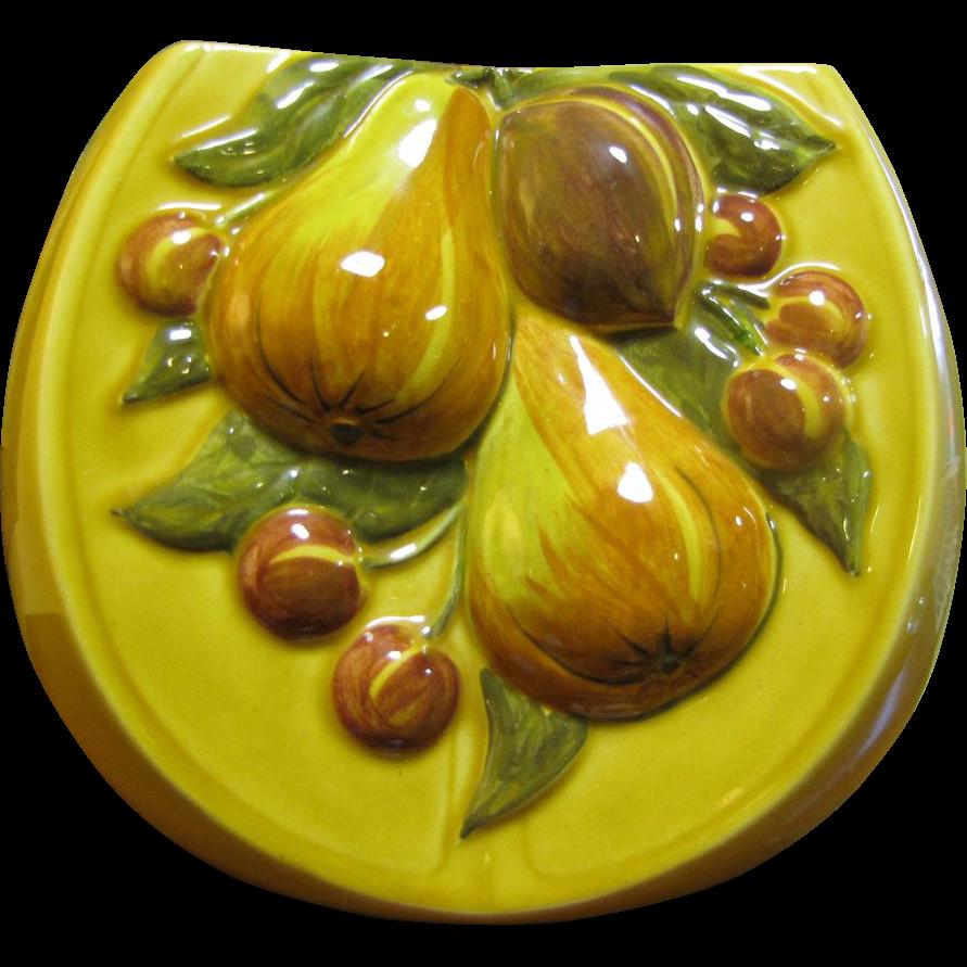Huge and Stylish Los Angeles Potteries Fruit Vase