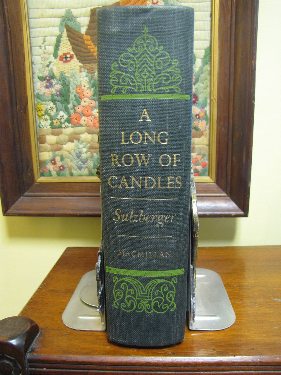 A Long Row of Candles, Memoirs & Diaries from 1934 to 1954, C L Sulzberger 1969
