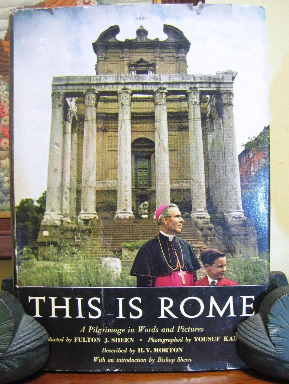"1960 ""This is Rome"" by Sheen, Karsh and Morton. 1st Edition First Printing‏"