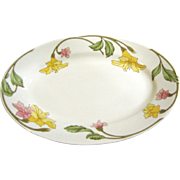 Pillivuyt French Art Nouveau Platter, Lovely Floral Design