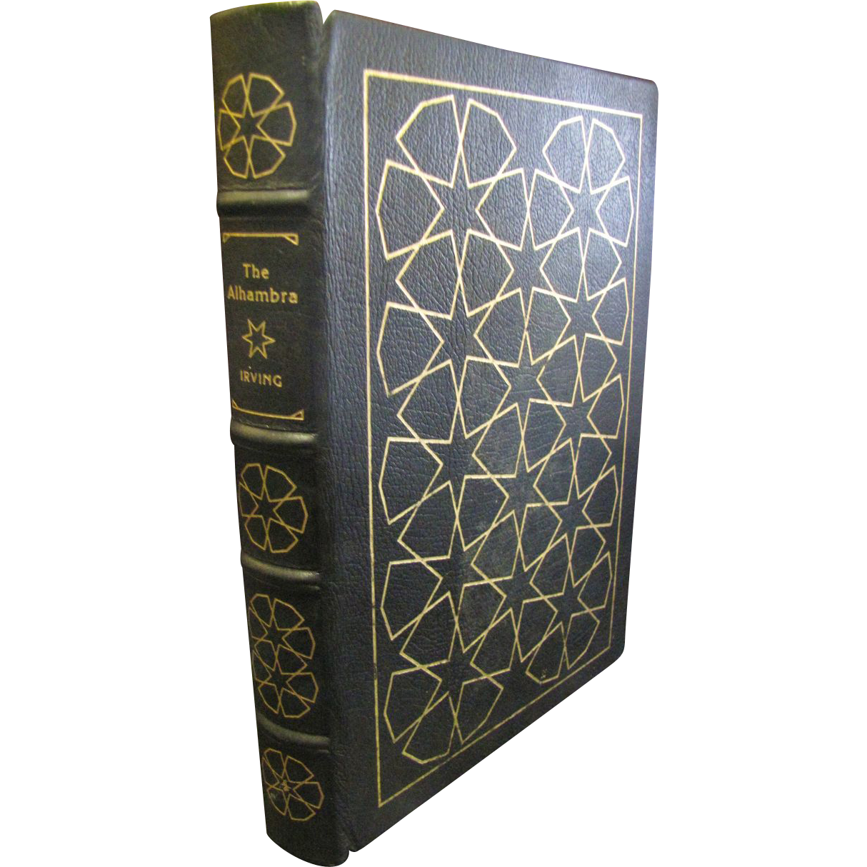"""1978 Limited Edition """"The Alhambra"""" by Washington Irving,Leather,Easton Press"""