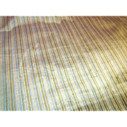 "Wonderful 32"" by Remnant of Heavy Uphostery Striped Velour"