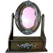 Vanity Photo Frame with Keepsake Jewel Drawer