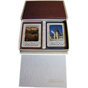 Biltmore Estate Boxed Set Limited Edition Playing Cards 2 Decks, 2 Pencils, 1 Pad‏