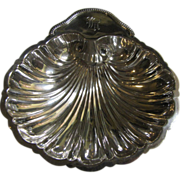 "6"" Sterling Silver Shell Footed Bowl by Revere Silver Co."