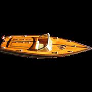"Fabulous  20"" Circa 1960's Chris Craft Model Boat, Great Details!"