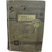 1885, Union-Disunion -Reunion Three Decades of Federal Legislation by Samuel S. Cox.