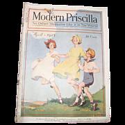 Modern Priscilla Magazine, April 1925