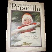 Modern Priscilla Magazine, January 1926
