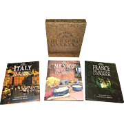 The Best of The Beautiful Cookbooks: France, Italy & Mexico [Gift Boxed Set] Hardcover, Like New