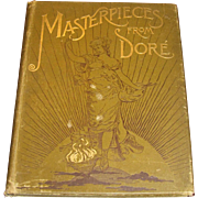 "Antique 1887 ""Masterpieces from Dore"" from Works of Gustave Dore by Edmund Ollier"