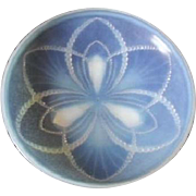 Stunningly Beautiful French Art Deco Choisy-le-Roi opalescent glass pearls pattern bowl