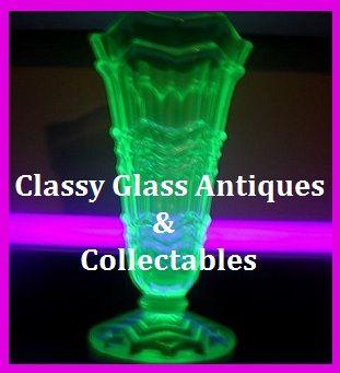 Sowerby 1930s Art Deco Uranium Green Glass Vase