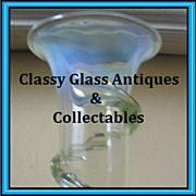 Thomas Webb, English Victorian Uranium Vaseline Glass Vase.  AMAZING!