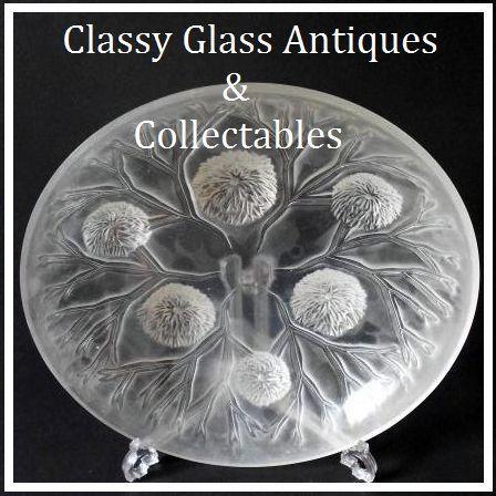 Substantial 14 inch Sabino Grande Coupe Les Oursins circa 1925 Glass Bowl