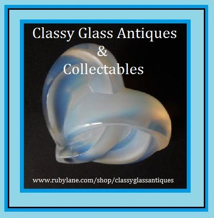 Quality Opalescent Glass Heart Paperweight by Lalique