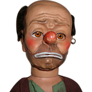 "20"" Emmett Kelly  Weary Willie Hobo Clown Doll"