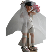 Mary Lou - Souvenir Doll of 1980 Chicago, Il. GFWC Region 10 - A Wedding of the Painted Doll