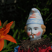 Fantastic All Original China Jester From A Museum In Switzerland