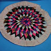 Silk Dollhouse Rugs...Handsewn.....Circa 1880-1900