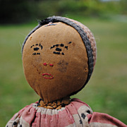 Black or Mulatto or Middle Eastern Cloth Doll Found In France