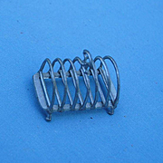 19th c.Toast Rack..... German Pot Metal