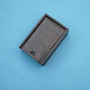 Miniature 19th c. Candle Box