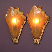 Perfect Home Theater Art Deco Vintage Wall Sconces