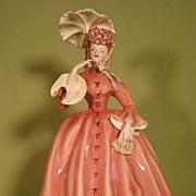 Vivian porcelain figurine by Florence Ceramics