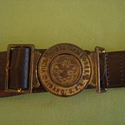 Vintage 1969 Boy Scout BSA   VII National Jamboree Idaho Belt and Buckle