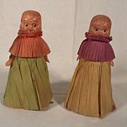 Rare 1930's Pair of Winnie Walker Ramp Walker Dolls Toys