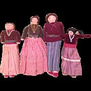 Navajo Vintage Handmade Cloth Doll Collection