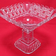 Early American Glass Compote