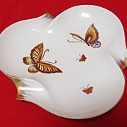 SALE Butterfly  Dish