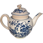 18th Century Worcester  Tea Pot