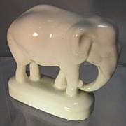 SALE Hutschenreuther Miniature  Porcelain Elephant