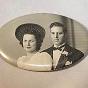 Wedding souvenir Photo Mirror