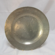 SALE Pewter Plate London
